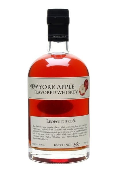 Leopold Bros. New York Apple Flavored Whiskey