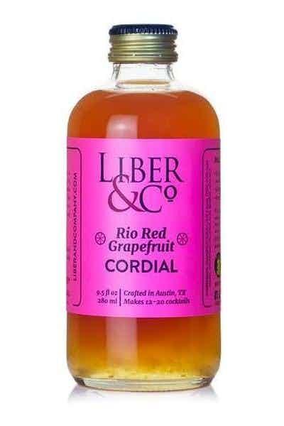 Liber & Co. Rio Red Grapefruit Cordial