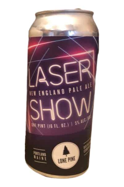 Lone Pine Brewing Laser Show