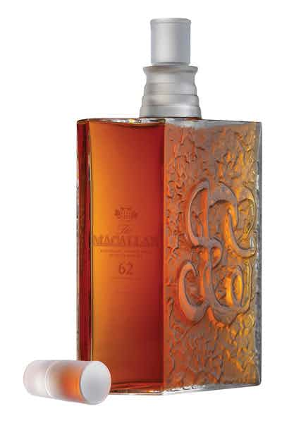 Macallan 62 Yr Lalique