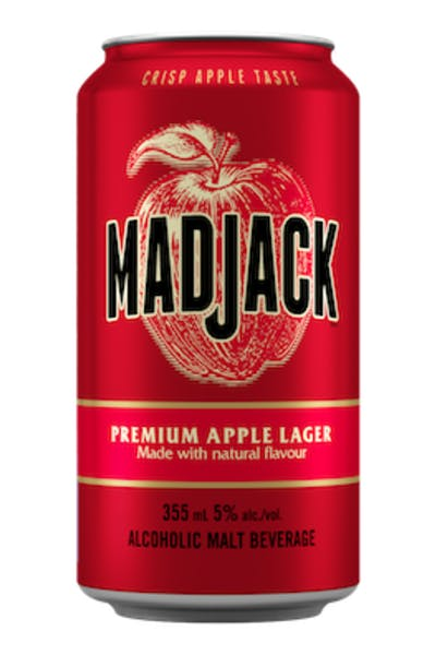 Mad Jack Premium Apple Lager