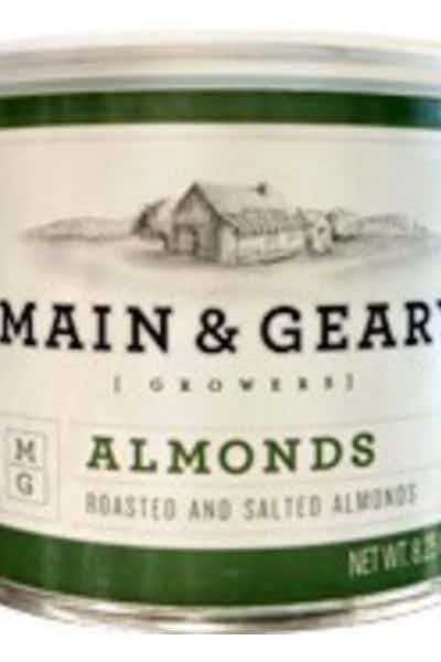 Main & Geary Roasted Almonds