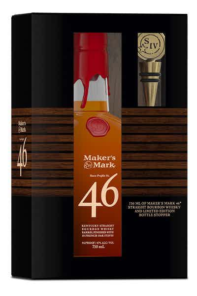 Maker S Mark 46 Bottle Stopper Gift Set Price Reviews Drizly