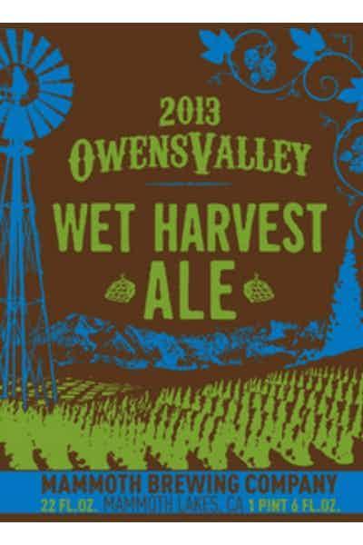 Mammoth Owens Valley Wet Harvest