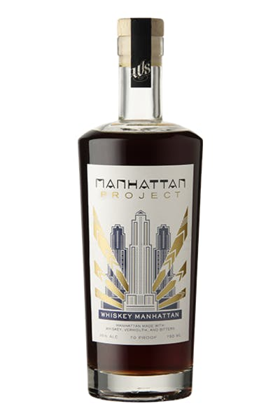 Manhattan Project Barrel Aged Whiskey