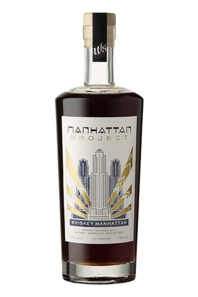Manhattan Project Barrel Aged Whiskey
