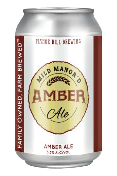 Manor Hill Mild Manor'd Amber Ale
