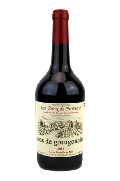 Mas de Gourgonnier Les Baux de Provence Rouge