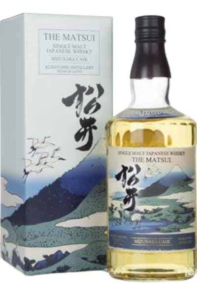 Matsui Mizunara Cask Single Malt Whisky