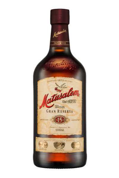 Matusalem Gran Reserva Rum 15 Year
