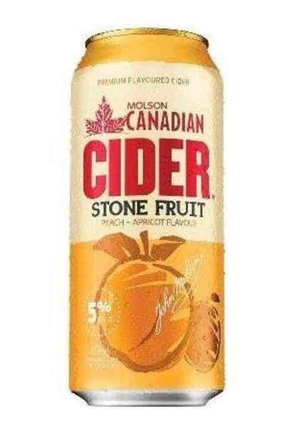 Molson Canadian Stone Fruit Cider