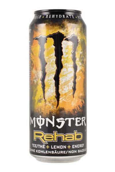Monster Rehab Lemon and Tea