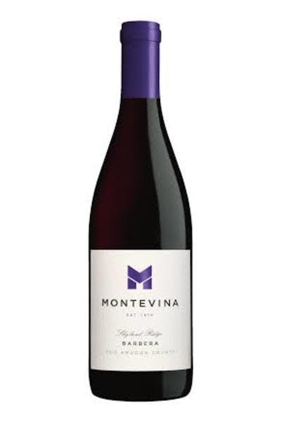 Montevina Barbera 2012