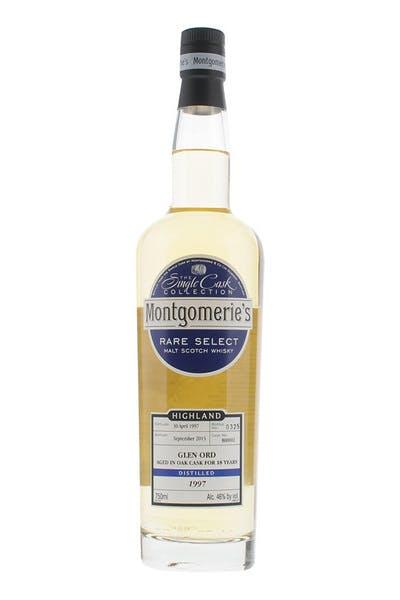 Montgomerie's Glen Ord Single Malt Scotch Whisky