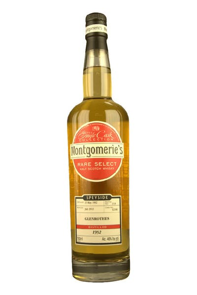 Montgomerie's Glenrothes Single Malt Scotch Whisky