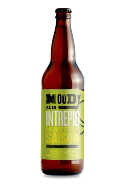Moody Ales Intrepid Matcha Tea Saison