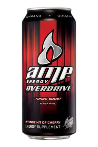 Mountain Dew Amp Energy Overdrive