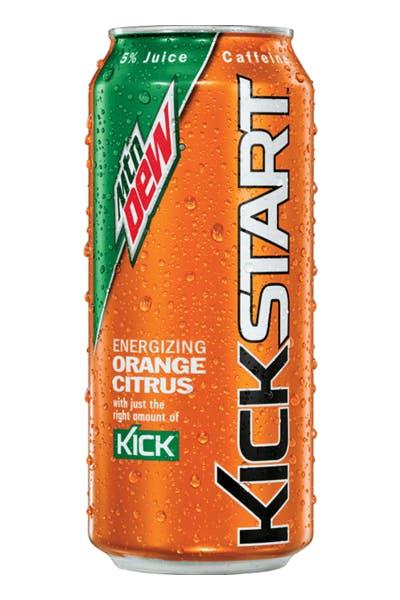 Mountain Dew Kickstarter Orange
