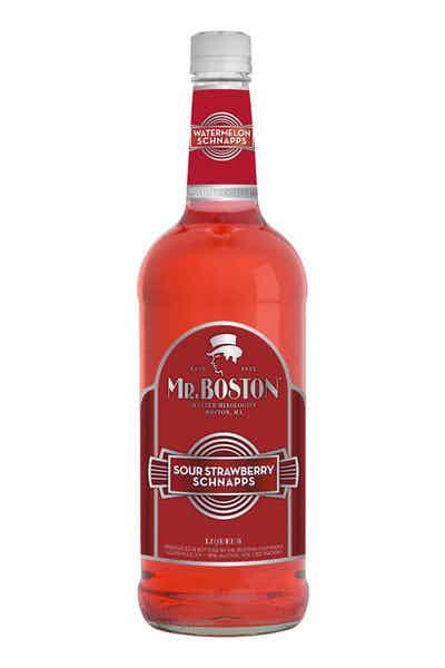 Mr. Boston Sour Strawberry Schnapps