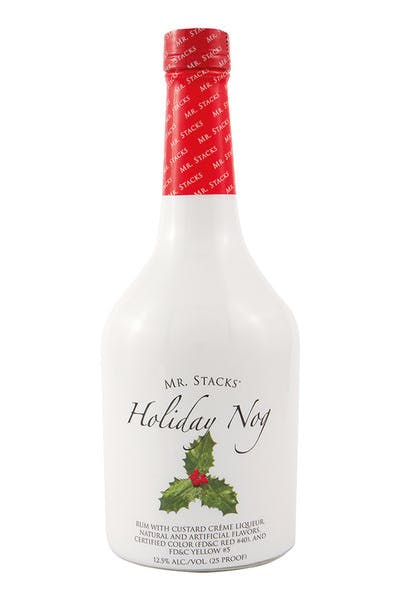 Mr Stacks Holiday Nog