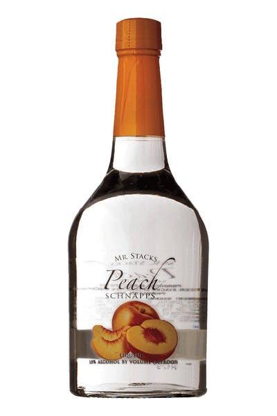 Mr Stacks Peach Schnapps