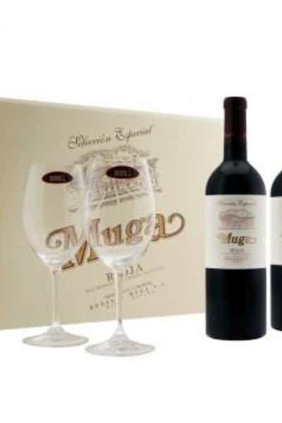 Muga Prado Enea Glass Gift Pack