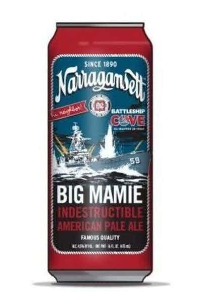 Narragansett Big Mamie Indestructible Pale Ale