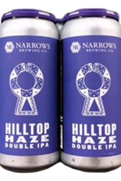 Narrows Hilltop Haze Double IPA