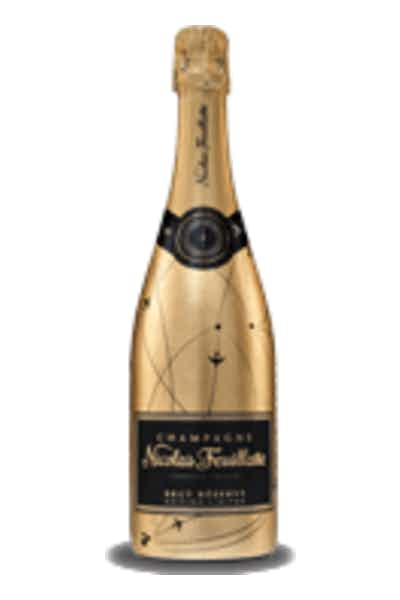 Nicolas Feuillate Limited Edition Gold Bottle