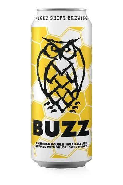Night Shift Buzz Double IPA w/ Wildflower Honey