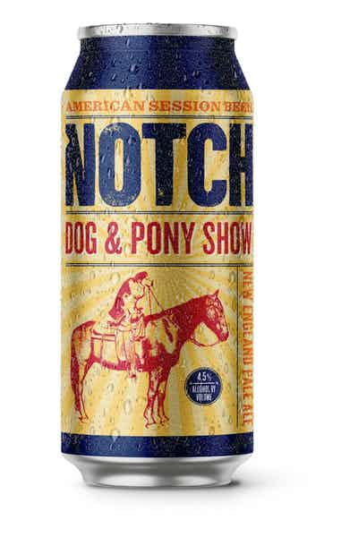 Notch Brewing Dog & Pony Show New England Pale Ale