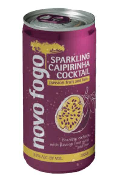 Novo Fogo Passionfruit Sparkling Caipirinha
