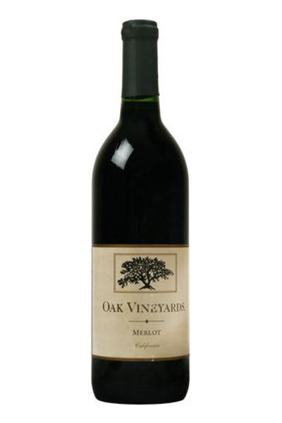 Oak Vineyards Merlot 2012
