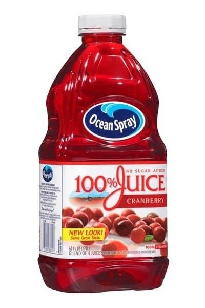 Ocean Spray 100% Juice Cranberry Juice
