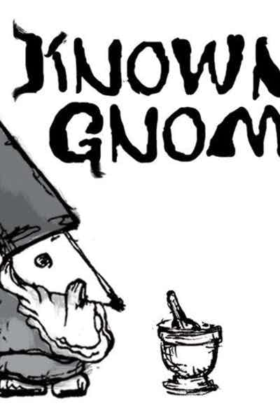 Off Color Known Gnome Porter with Bark and Roots