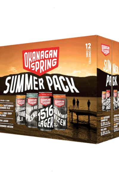 Okanagan Spring Summer Pack