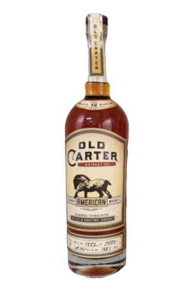 Old Carter Straight Bourbon Whiskey, Batch 4