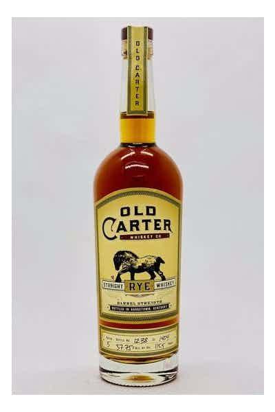Old Carter Straight Rye Whiskey, Batch 5
