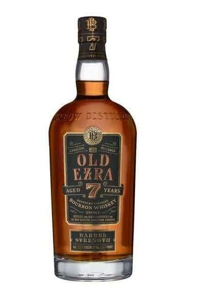 Old Ezra Brooks 7 Years 101 Proof