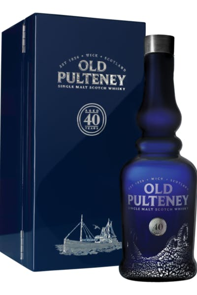 Old Pulteney Single Malt 40 Year Old
