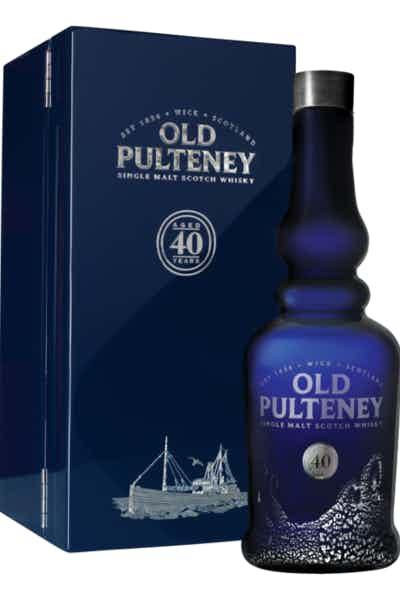 Old Pulteney Single Malt 40 Year Old