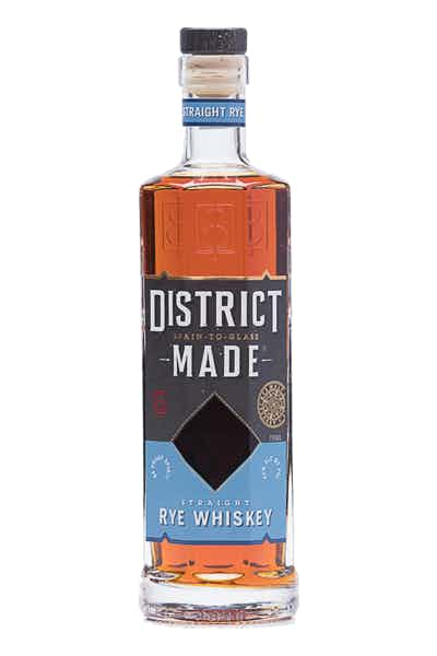 One Eight Distilling District Made Straight Rye Whisky