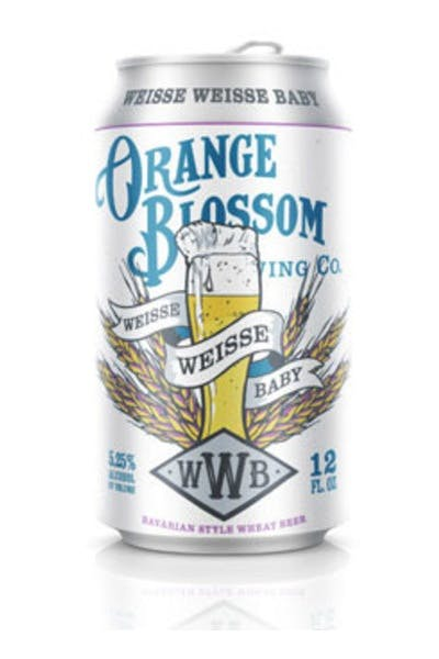 Orange Blossom Weisse Weisse Baby