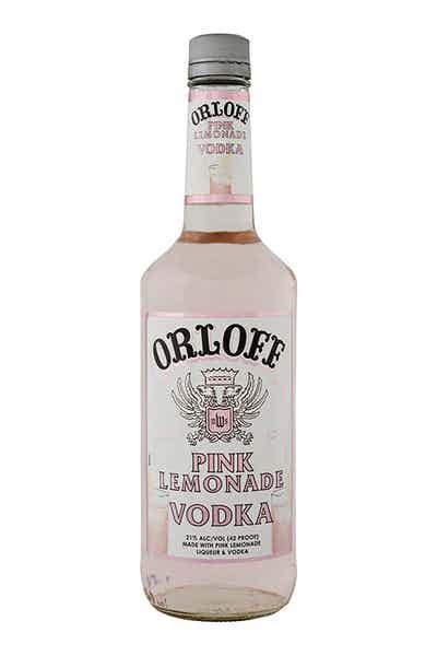 Orloff Pink Lemonade Vodka Low Proof
