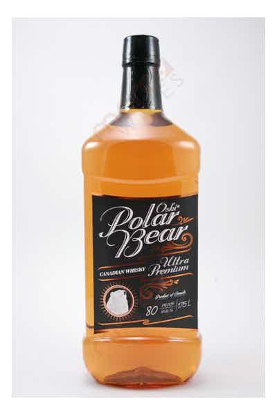 Oski Polar Bear Canadian Whisky