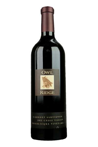 Owl Ridge Cabernet Passalacqua Dry Creek Valley