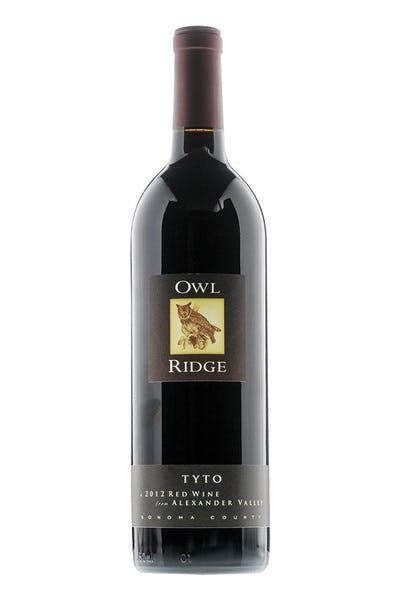 Owl Ridge Red Blend Tyto Alexander Valley