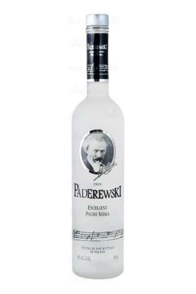Paderewski Excellent Polish Vodka