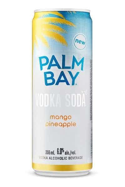 Palm Bay Mango Pineapple Vodka Soda