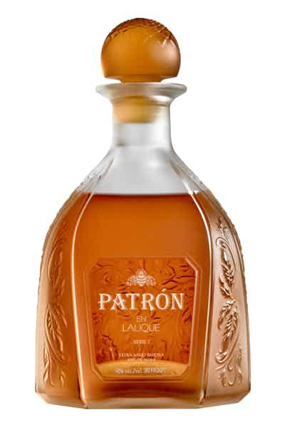 Patrón Tequila Extra Añejo En Lalique
